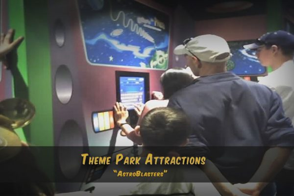 Disneyland California & Paris . Buzz Light Year - Photo Kiosk and Internet Game