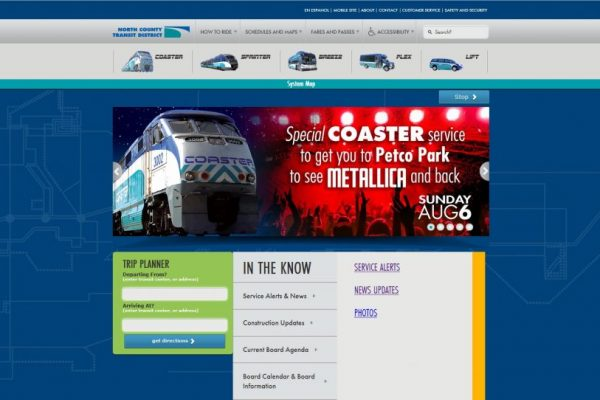 North County Transit District Website