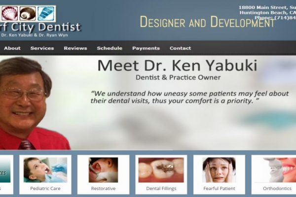 Dental Practice Website