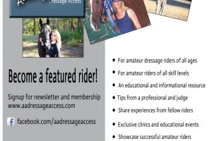 Adult Amateur Dressage Access