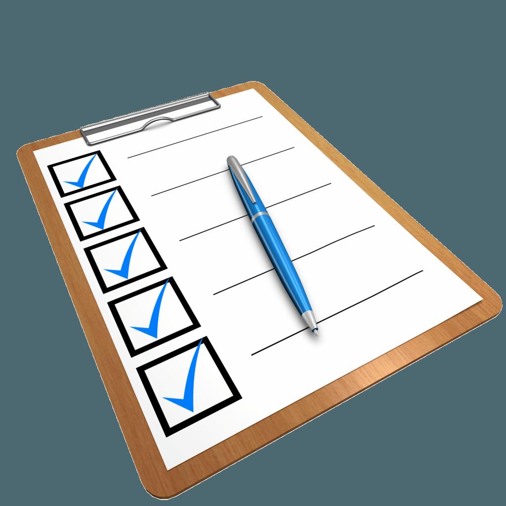checklist 1622517_1920