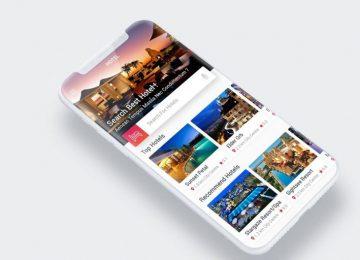 Hotel App Mock Up